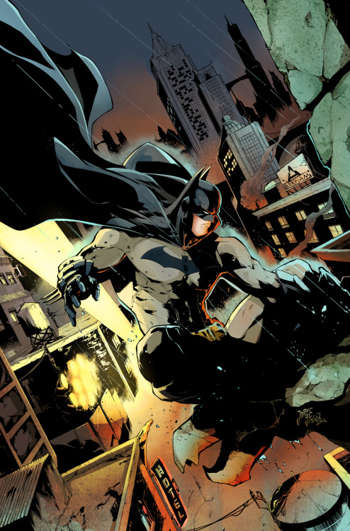 comicsforever:  Batman // artwork by Jorge Jimenez and Sandra MJ (2013)