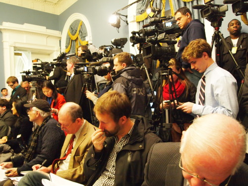 "Mayor Bloomberg's press conference at City Hall on Monday had the feel of a historic event. In the wake of the Newtown massacre, the question in that packed room seemed to be, ""Is this his moment?"" Because Bloomberg has emerged as the most prominent gun control advocate in the country. But although he put forth concrete proposals — like requiring background checks before all gun sales, and banning assault weapons — the Mayor hardly sounded confident that anything would happen, even this time. ""If this doesn't do it, what is going to?"" he said. ""But that doesn't mean we still shouldn't try."" The most hopeful person in the room, oddly enough, was one of the family members of gun violence victims that Bloomberg surrounded himself with during the news conference. Sandra Moses lost her son Steven 25 years ago and said that after an initial period of making public speeches and fighting for gun control, she gave upthe cause. She said it felt pointless, and sensed early on it would take an event of great, almost unimaginable magnitude to change America's mind about gun control. She now believes the shootings at Sandy Hook elementary rise to that level, and that change is set to unfold."