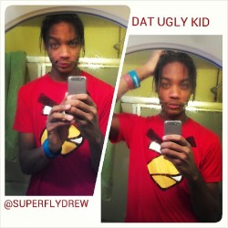 One day ill be good looking, but untill then #TeamUgly #DatUglyKid