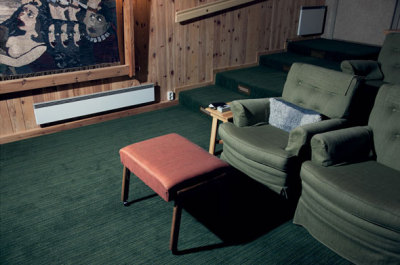 wandrlust: Bergman's chair in his private cinema. October 2009 — Stephen Shore From The Private World of Ingmar Bergman