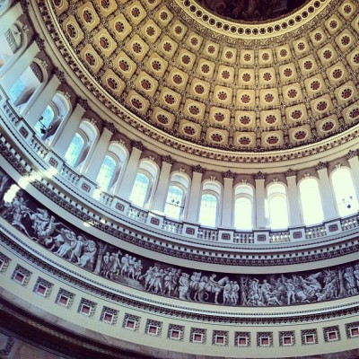 I can't even begin to describe how beautiful the Capitol Building is. #washingtondc #history #america #politics #usa #pic2013 #barackalums (at United States Capitol Building)