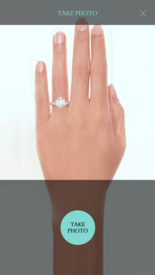 capture on Tiffany & Co. Engagement Ring Finder