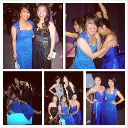 janeljoy:  Tis a wonderful time with the girls at prom. #memories