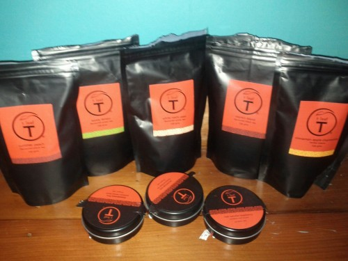 A selection of only SOME of my teas