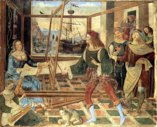Pinturcchio c. 1509 The Return of Odysseus