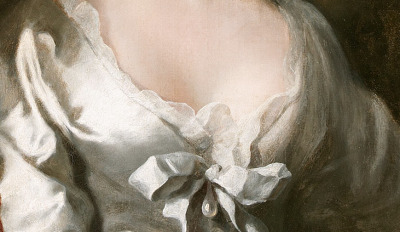 detailsofpaintings:  Joseph Highmore,The Artist's Wife Susanna, son Anthnoy and daughter Susanna c.1728