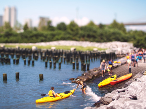 New York's Waterfront Revival | Kayaking in Brooklyn Bridge Park