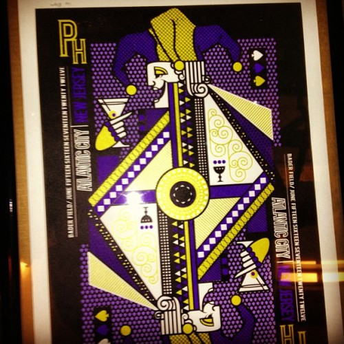anthonyfletcher:  This is the AC PHiSH poster by Michael Boyer, now framed and wall-ready.