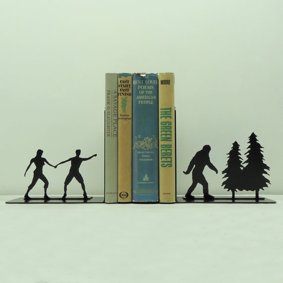 knobcreekmetalarts:  Bigfoot Bookends
