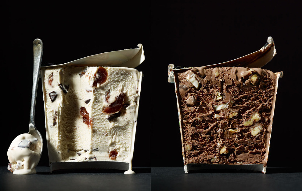 "appetissante:  buzzfeedfood:  ""Cut Food"" is the brainchild of photographer Beth Galton and food stylist Charlotte Omnès. All liquids are suspended with gelatin, making the most mundane snacks into works of art.  I want ramen now"