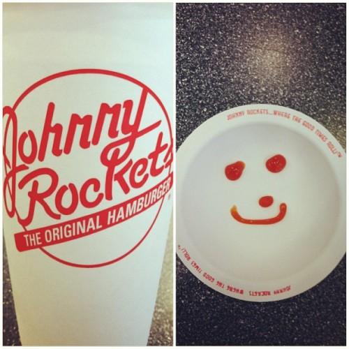 Best restaurant in the Inner Harbor. #bestvanillacokeever #johnnyrockets