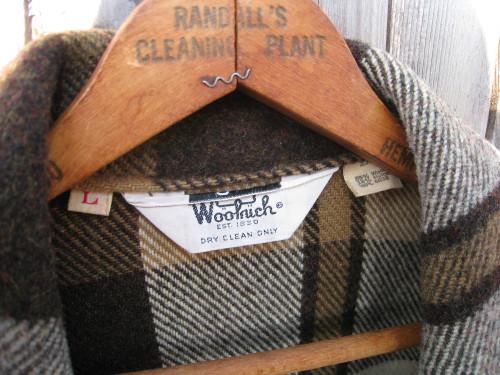 Vintage Woolrich Plaid Shirt Jacket Mens Large