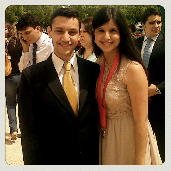 Congrats sister! I love u  (Photo taken and uploaded via MOLOME )