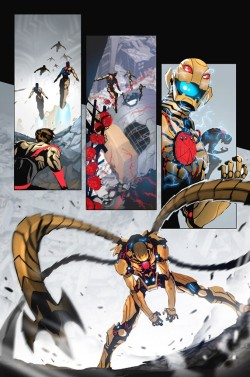 Marvel to Replace More Characters' Brains with Doctor Octopus? A first look at Superior Spider-Man #6AU seems to confirm rumors that Marvel intends to put Doctor Octopus's brain in more characters' heads. See the Preview