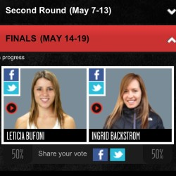 "Hurry up and VOTE for @leticiabufoni for @xgames ""Real Women"" http://xgames.espn.go.com/events/2013/barcelona/real/real-women #skatelife"