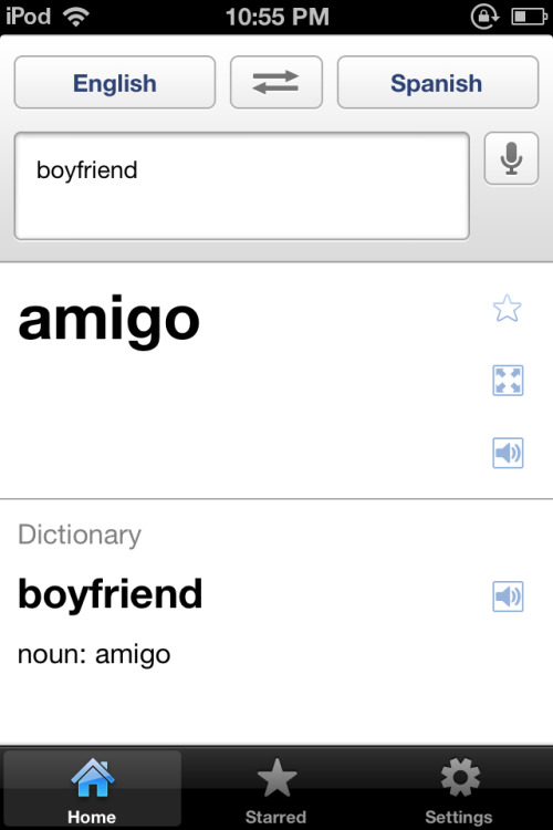 Lmfao even Google Translate is friendzoning guys.