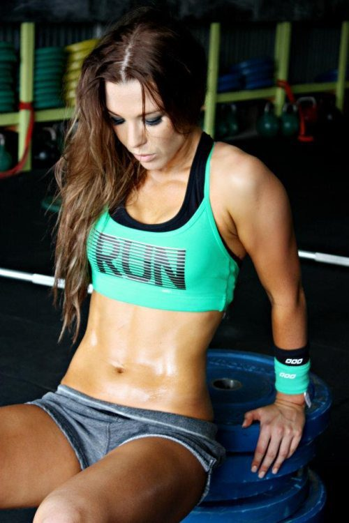 functionalfitnessfreak:  Sweat I like that shit…