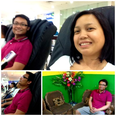 Sundate: Chair Massage, Blind Massage, St. Luke's ERIt was one Sunday afternoon when we decided to try these chair massagessituated by the escalators…View Post
