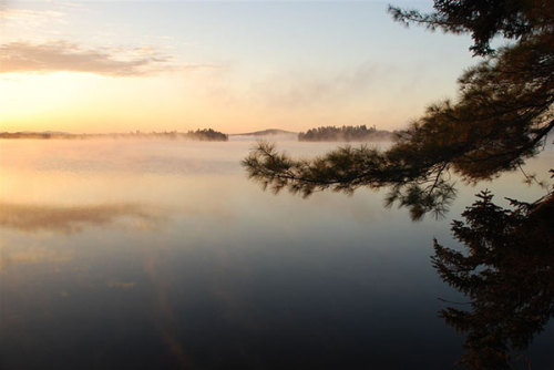 Photo of the Day: Chilly sunrise on Lake Lila. Photo: John Sherman, Barneveld,  NY