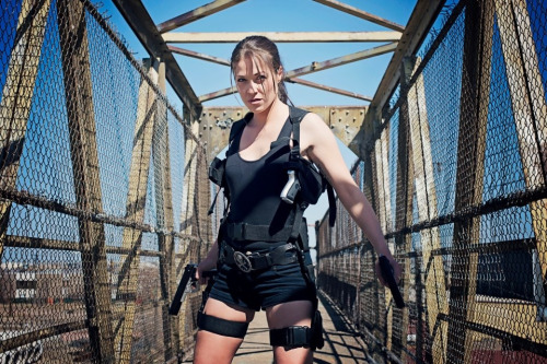 Tomb Raider. Lara Croft. Photography: Joshua Hicks