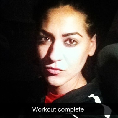 Does YOUR best friend look perfect post work out?! Lmao. #snapchat
