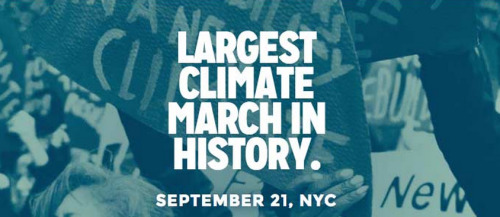 What do Jared Leto, Natalie Portman, Ian Somerhalder and Emma Roberts have in common? Well, aside from being ridiculously good-looking, they're just a few of the tons of celebrities who are helping spread the word about the People's Climate March.  It's going down in NYC this Sunday, where over 100,000 people and 1,000 environmental, labor, and civil rights organizations will march to demand action to fight the climate crisis.  Yes, we're in the middle of a climate crisis, and no, we're not doing enough to fix it. Animals are already feelin' the effects, and if we continue living the way we are, it might not be long before your hometown is underwater.  The People's Climate March is expected to be the largest climate march in history. It's happening two days before the United Nations Climate Summit, where leaders from around the world will decide just how we're gonna combat global climate change.  Even if you can't make it to the march, click here for a list of ways you can get involved, from linking up with environmental activists in your town, to spreading the word on Twitter.  It's not just about the march — it's about movement and pledging to make better everyday decisions that save our planet.