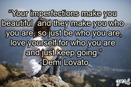 gurl:  We've found even more words of wisdom from the amazing Demi — read them all now in our 10 Demi Lovato Quotes That Will Inspire You!