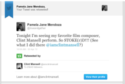 CLINT MANSELL SAW WHAT I DID THERE!