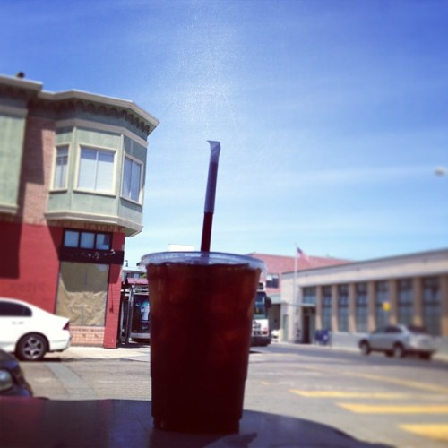 Iced coffee. / on Instagram http://bit.ly/15ZzeND