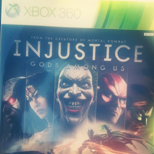 Just got injustice!!! #injustice #dcu #toobadihaveclass