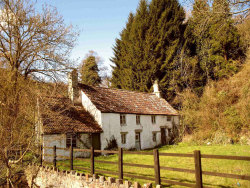 acountrycottage:  Tintern Cottage by John Pember