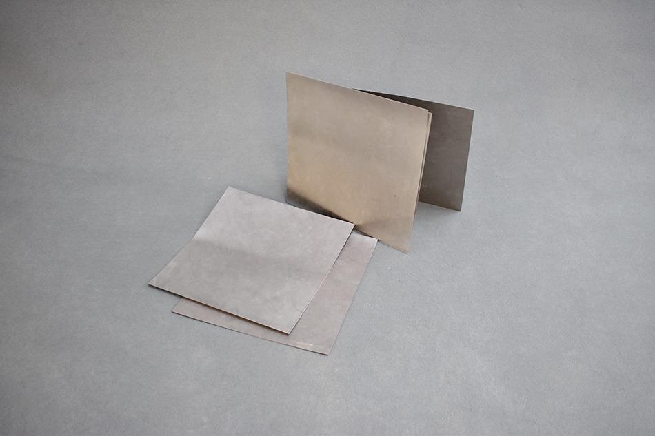 Plaques en métal 50×50 cm - 50 exp1 euro/Kg