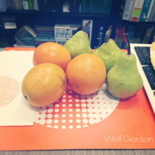 More of today's citrus themed goodies! #summerschemes thanks Susan and @wolf_gordon