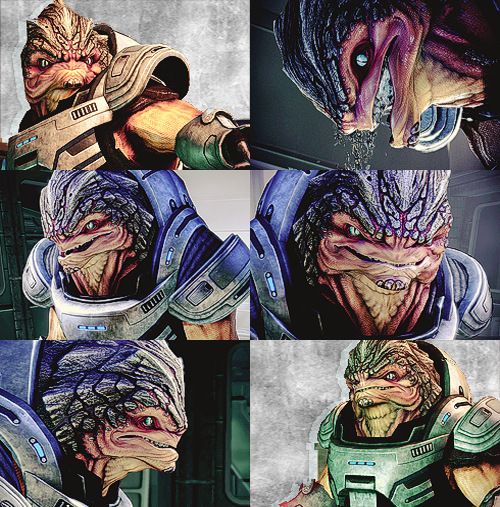 I am pure krogan; you should be in awe.