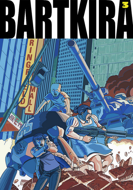 BARTKIRA vol. 3 on Flickr. Ugh, I can't stop doing these. #bartkira #akira #simpsons