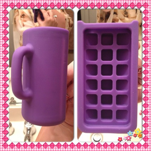 My new iPhone case. It looks like a coffee mug. LOL