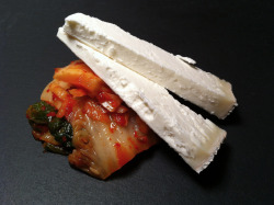 The New Cheese with Kimchi, my favorite pairing