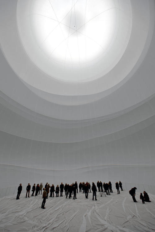 conversationswiththelight:  Big Air Package, Gasometer Oberhausen, Germany, Christomore