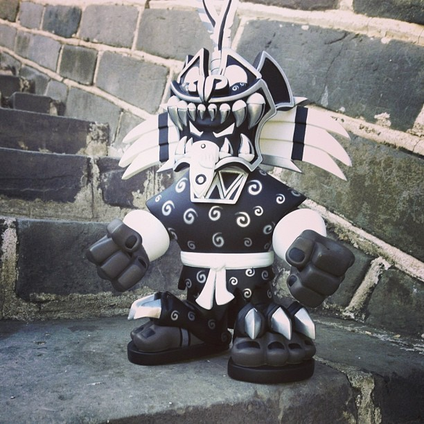 One step at a time. #jaguarknight #pobbertoys #photooftheday #designertoys #toys