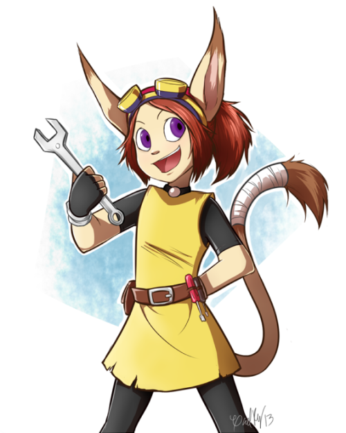 rinidinger:  riceygales:  Rin The Yordle  Rin The Yordle, here to help ya!((GABBY WHY WHY WHY WHY WHY WHY OH MY GOD T___T CRYING AT WORK TODAY AND JUST GOT HOME TO TELL YOU STILL CRYING))