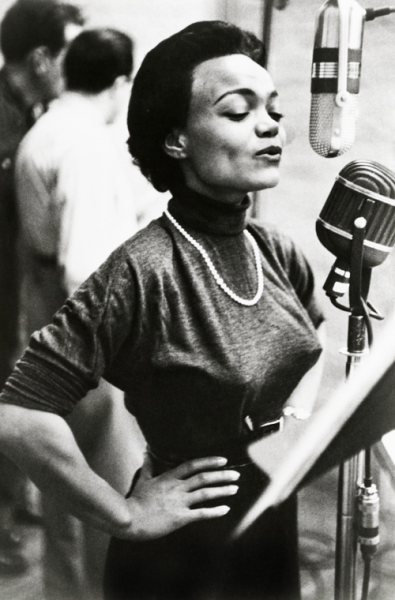 Eartha Kitt is so cool.