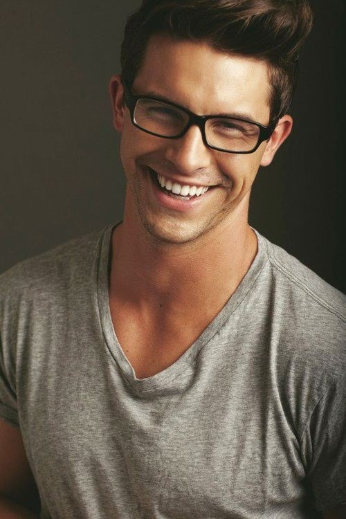 What do you like? ♂ Teeth | Glasses | Scruff | Hair
