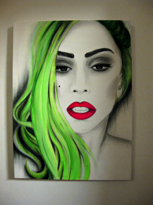 artpoplikeladygaga:  just put this in my room