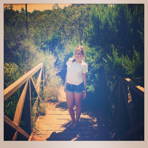 Found This Bridge On Our Hike In Malibu!!  #malibu #beach #hike #fun #happiness