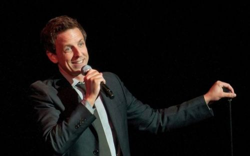 "Seth Meyers is officially is the new host of NBC's ""Late Night,"" replacing the Leno-replacing Jimmy Fallon and proving one thing: ""Weekend Update"" is a farm system. (AP photo)"