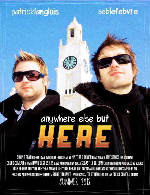 "POSTER MEME: Movie poster for ""Anywhere Else but Here"" asked by anon;"