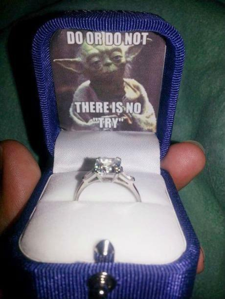 therealfighter:  Epic marriage proposal!  dopest dope I ever smoked