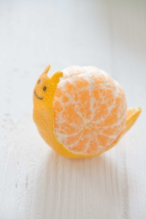 mr. orange snail is a happy orange snail :3