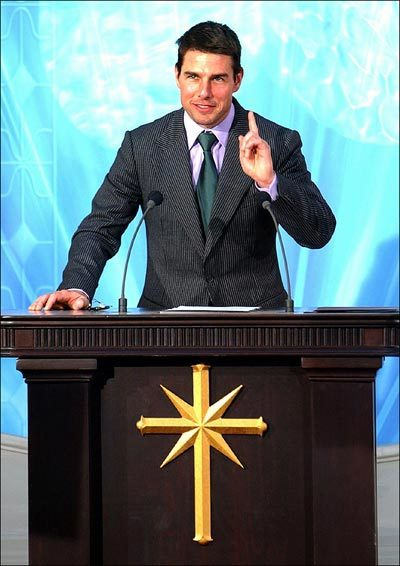 "lareviewofbooks:  ""To keep a person on the Scientology path, feed him a mystery sandwich."" Michelle Kuo and Albert Wu on L. Ron Hubbard and the secret history of Scientology:  It was during these years at sea that Scientology adopted the malevolent, secretive character for which it is now infamous. The period left a ""legacy of […] belittling behavior toward subordinates and […] paranoia about the government,"" Wright writes. ""Such traits stamped the religion as an extremely secretive and sometimes hostile organization that saw enemies on every corner."" During this time, Hubbard expanded his theories and instituted a new system of punishments to address disciplinary issues (including crew members who questioned his command or relationships of which he disapproved). When a Sea Org executive was unable to connect a steel cable on the dock during a storm, Hubbard ordered him thrown into the sea. After that, Wright reports, ""overboardings became routine.""  Read more here."