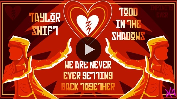 Todd in the Shadows says we are never ever getting back together… like, ever. Catch his review of T Swizzle's latest chart-topping hit. WATCH NOW ON BLIP: We Are Never Ever Getting Back Together